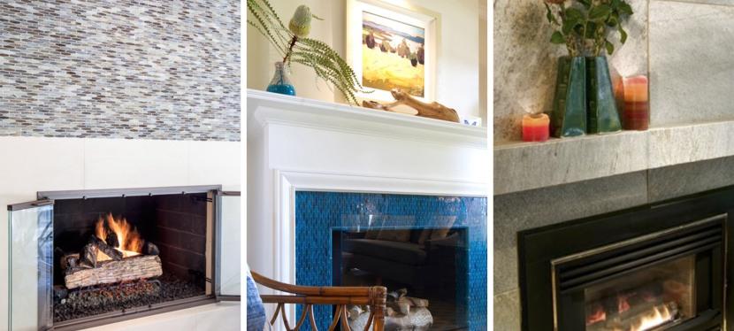 Tile Fireplace Design Ideas – Design by Lunada Bay Tile