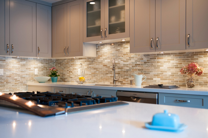 What region has the largestkitchens?