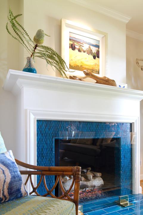Tile Fireplace DesignIdeas